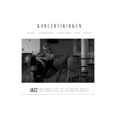 Kirkekoncerter & jazzgudstjenester